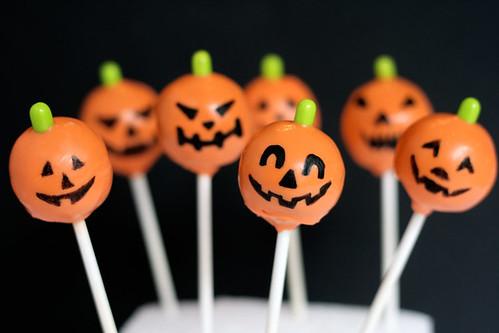 Jack O Lantern Pops for Halloween!
