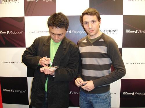Con Kazunori Yamauchi
