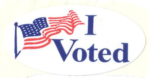 I Voted Sticker (Hi-Res)