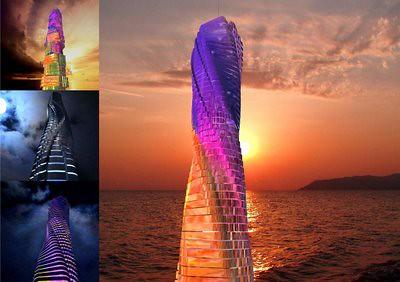 Dubai Da Vinci Rotating Tower