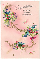 Wedding Anniversary Card front