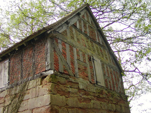 The Malt House - before restoration. (Ruth Bourne on Flickr, Click image)