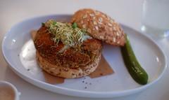 Spiced Lentil Burger