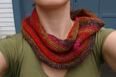 Cowl - purl side