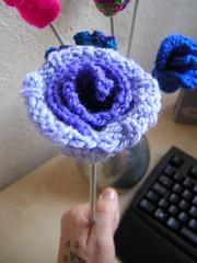 Lovely Blooming Flower ♥ Free Pattern http://andrewcraigwilliams.blogspot.com
