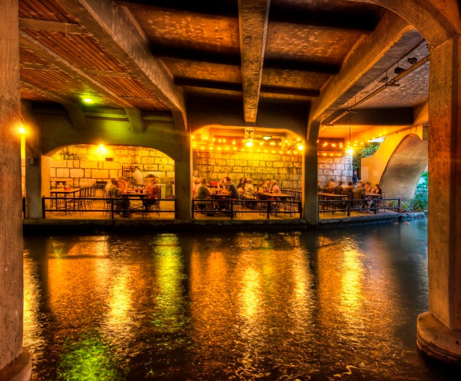 A Restaurant Under the Bridge
