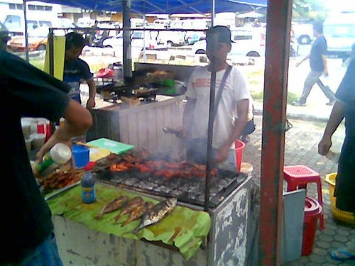 KK Ramadhan grilled food stall