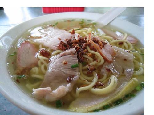 KK special pork soup noodles
