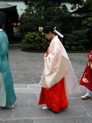 Kamakura, traditional wedding, the bride