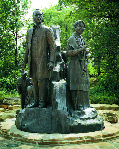 Underground RailRoad Sculpture - Battle Creek by battlecreekcvb
