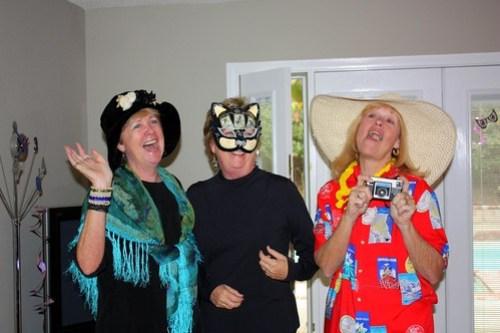 Aunt Kathy, Aunt Terry, & Grandma / Hippie, Cat Burgler, & Tourist