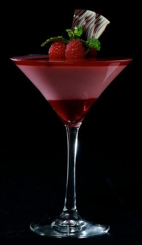 Raspberry Martini