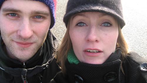 My cousin Bjarki and me @ Regent's Park