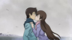 True Tears 11 - hiromi x shinchiro kiss