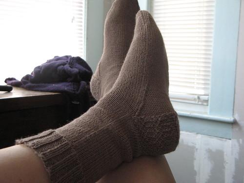 CoffeeBoy socks on my feet