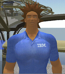 An IBM Concierge in Second Life