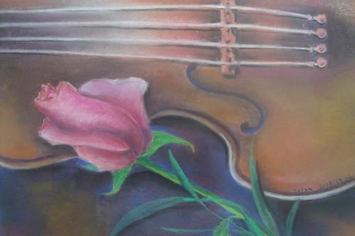 淑珊_小提琴與玫瑰