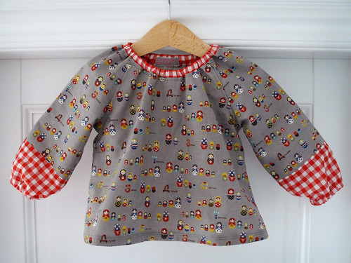 Matryoshka blouse