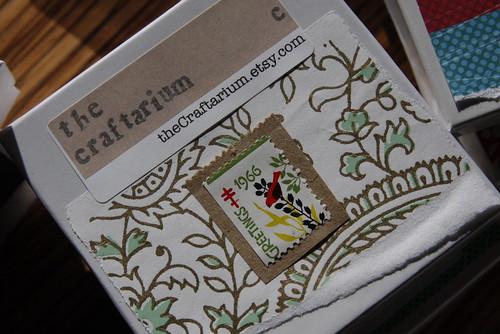 Vintage Xmas Seal Box