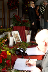 Funeral of president Janez Drnovᅤᄀek