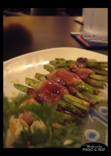 Aspara-Bacon at Ebisu