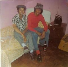 Noel Murray and Raymond Thomas circa 1975
