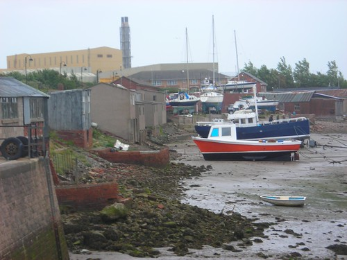 Boats on the foreshore