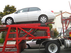 DAS Auto Shippers and our car
