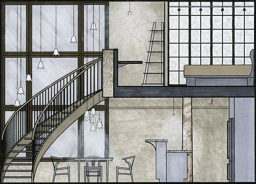 Loft: Section 1 towards stairs