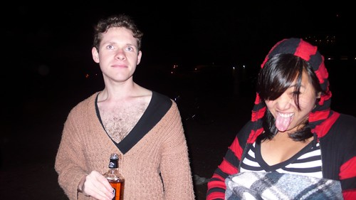 I am a hipster sleeper-in, ironically celebrating Pajama Wednesday.