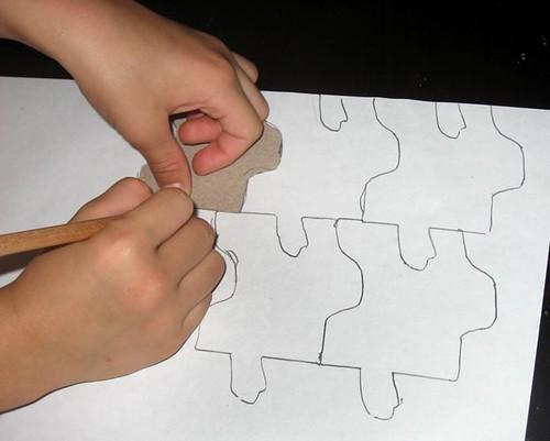 Art lesson: M C Escher (4/6)