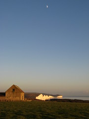 Seven Sisters with Moon