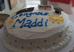 I made Maddi a cake