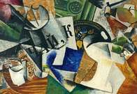 Liubov Popova. Still Life with Tray.