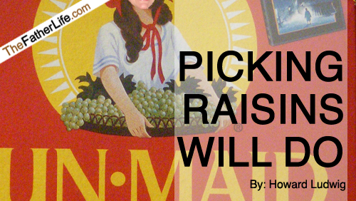 Picking Raisins Will Do
