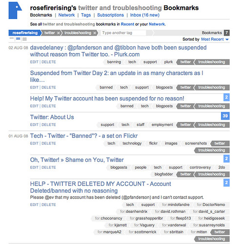 """Twitter - """"Banned""""? - Day 2, Late morning"""
