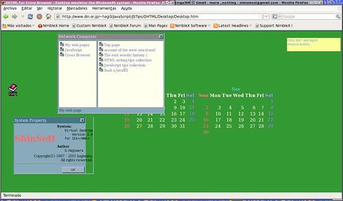 webos hecho en Java