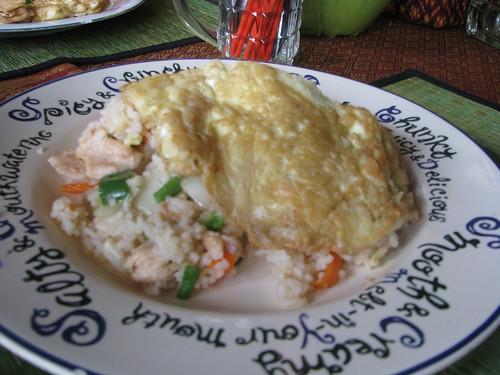 Cambodia fried rice