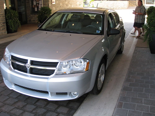 The rental car
