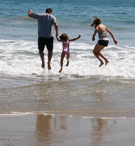 Beach Jump Shot