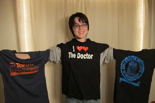 Fanime Doctor Who tshirts