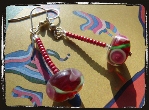 Orecchini fatti a mano - Handmade Earrings MEHCMURO