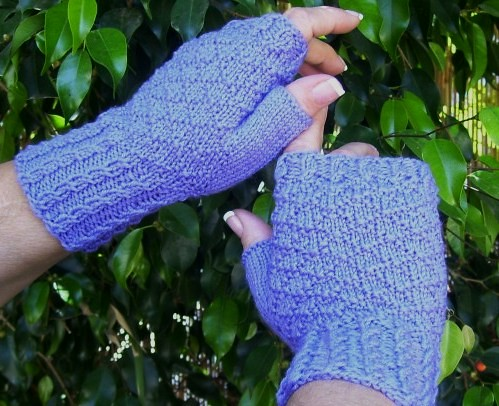 * These look simple, but quick & fun to knit!