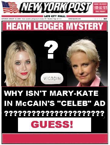 Missing Celebrity