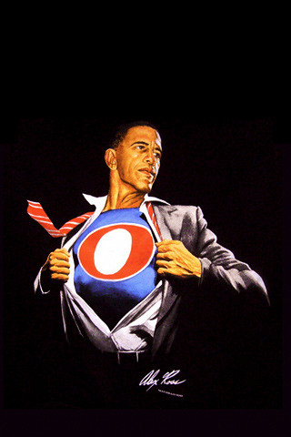 Barrack Obama Painting by Alex Ross