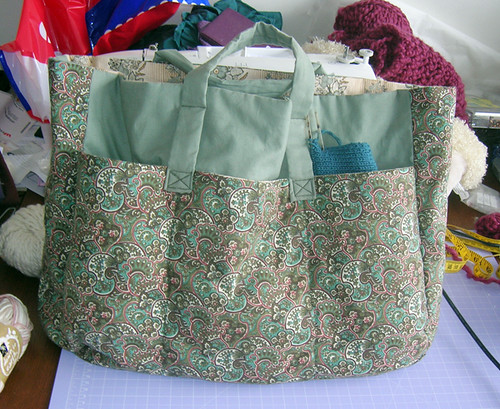 a bag for knitterly things