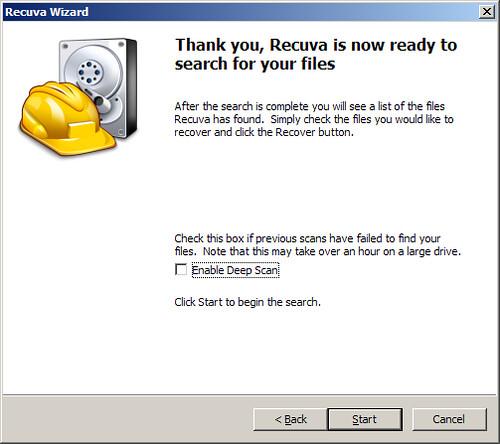 mengembalikan file hardisk terformat