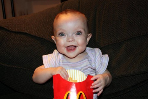 Mmm....fries...Can't wait to choke!