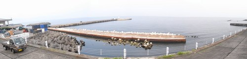 Motomachi harbor photomerge