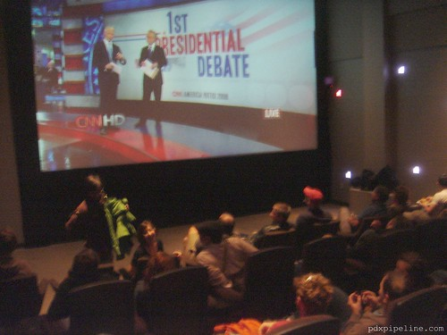 Presidential Debate, Living Room Theater
